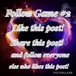 New follow game with tag list!!!